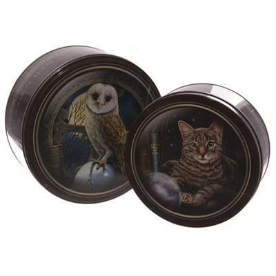 Set of 2 Magic Design Tins by Lisa Parker